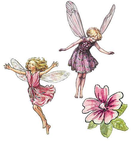 Flower Fairies Cut Outs 2